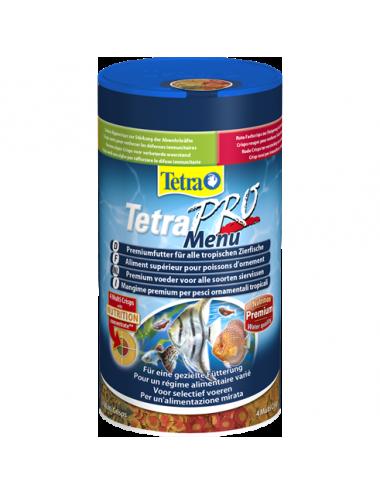 TETRA - Pro Menu - 250ml - Assortiment d'aliment supérieur pour poissons