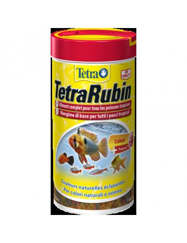 TETRA - TetraRubin - 250ml - Mélange de flocons pour poissons