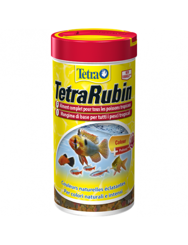 TETRA - TetraRubin - 1l - Mélange de flocons pour poissons