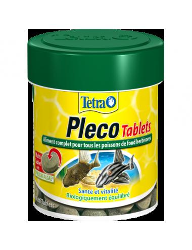 TETRA - Pleco Tablets - 120 tablettes - Aliment complet pour les poissons de fond