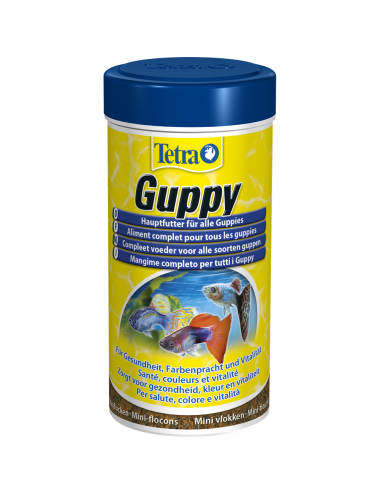 TETRA - Guppy - 250ml - Aliment complet pour Guppy