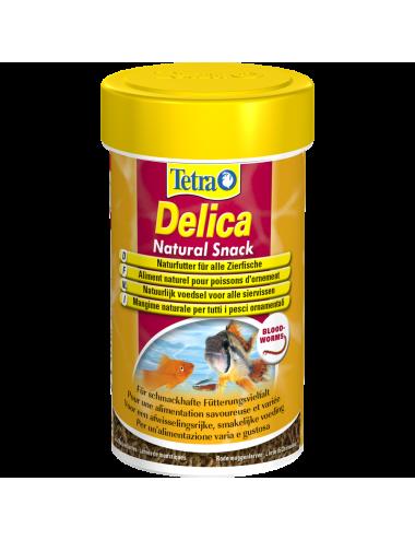 TETRA - Delica Bloodworms - 100ml - Larves de moustiques rouges lyophilisées