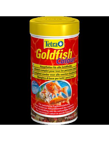 TETRA - Goldfish Colour - 250ml - Aliment en flocons pour poissons rouges