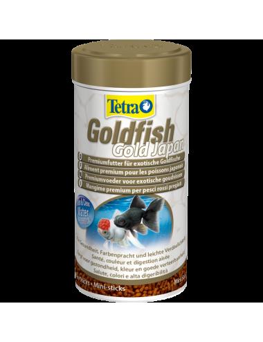 TETRA - Goldfish Gold Japan - 250ml - Aliment en granulés pour poissons japonais.