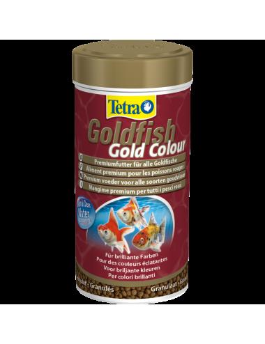TETRA - Goldfish Gold Colour - 250ml - Aliment en granulés pour poissons rouges