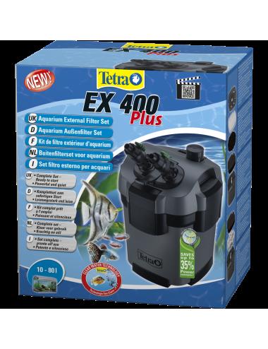 TETRA - EX 400 Plus - Filtre externe pour aquarium jusqu'à 80 litres