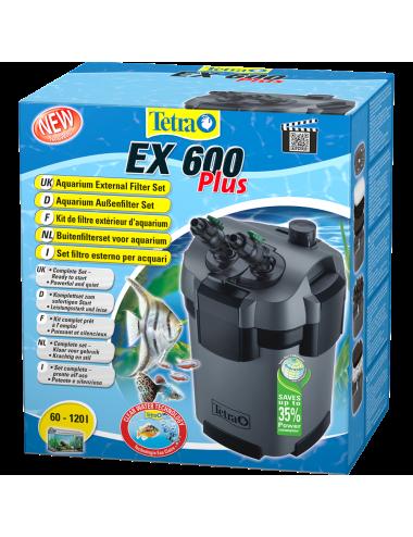 TETRA - EX 600 Plus - Filtre externe pour aquarium jusqu'à 120 litres