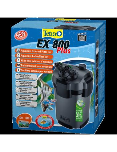 TETRA - EX 800 Plus - Filtre externe pour aquarium jusqu'à 300 litres
