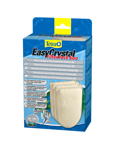 TETRA - EasyCrystal Filter Pack 600