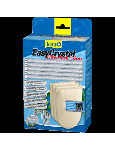 TETRA - EasyCrystal Filter Pack C600 avec charbon - Cartouche pour filtre