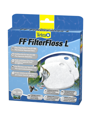 TETRA - FF FilterFloss L - Ouate Synthétique pour filtres tetra EX 1200