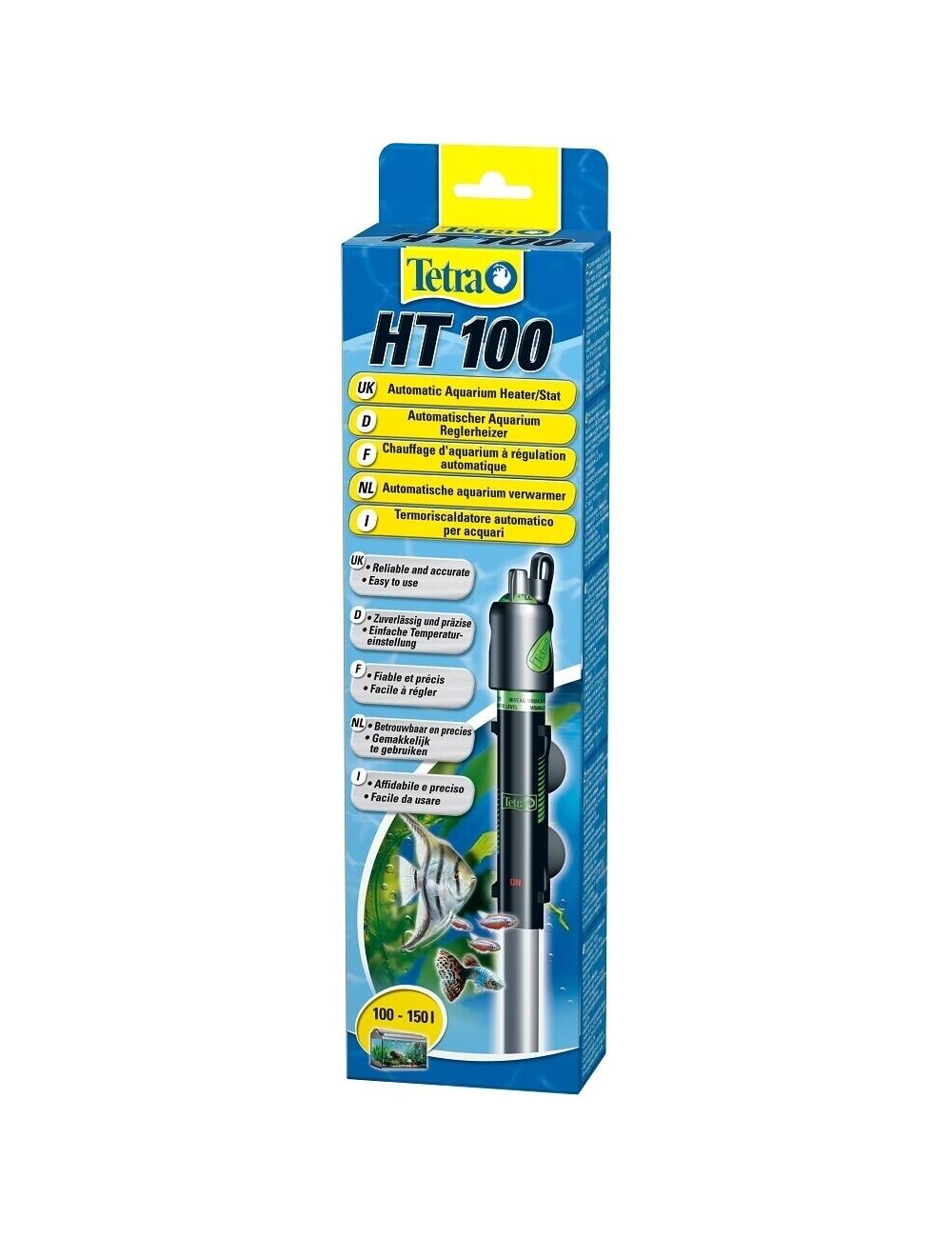 TETRA - HT 100 - Chauffage pour aquarium jusqu'à 100 litres.