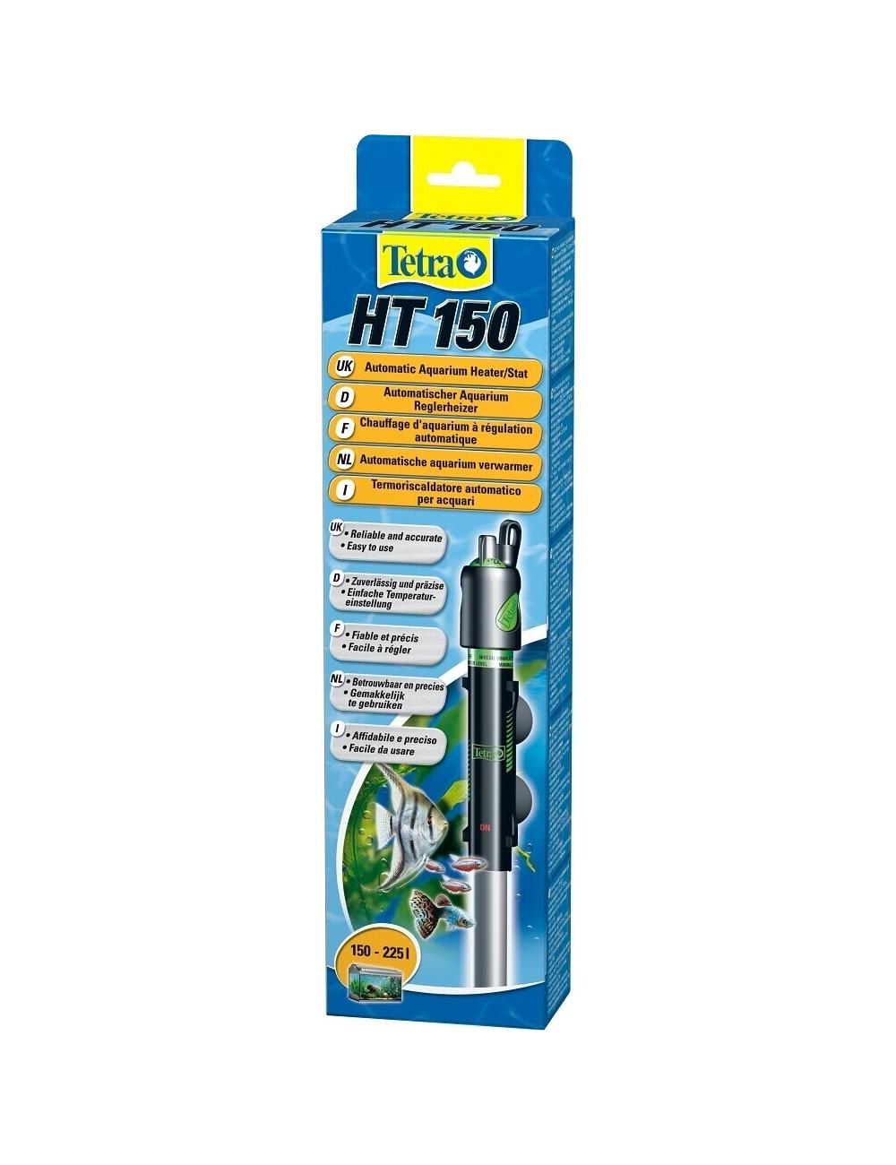 TETRA - HT 150 - Chauffage pour aquarium jusqu'à 150 litres.