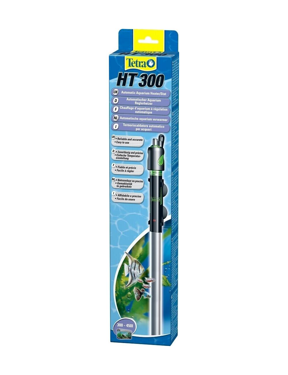 TETRA - HT 300 - Chauffage pour aquarium jusqu'à 450 litres.