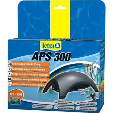 TETRA - APS 300 noire - Pompe à air pour aquarium 300 l/h