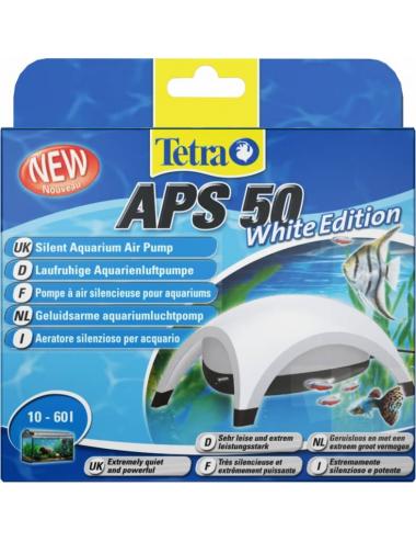 TETRA - APS 50 Blanche - Pompe à air pour aquarium 50 l/h