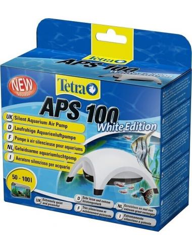 TETRA - APS 100 Blanche - Pompe à air pour aquarium 100 l/h