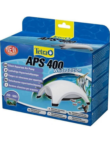 TETRA - APS 400 Blanche - Pompe à air pour aquarium 400 l/h