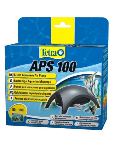 TETRA - APS 100 noire - Pompe à air pour aquarium 100 l/h