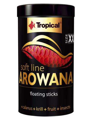 TROPICAL - Soft Line Arowana XXL - 250ml - Nourriture en sticks pour arowanas