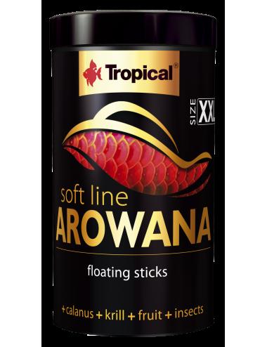 TROPICAL - Soft Line Arowana XXL - 1000ml - Nourriture en sticks pour arowanas