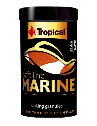 TROPICAL - Soft Line Marine S - 100ml - Nourriture en granulés pour poissons marins