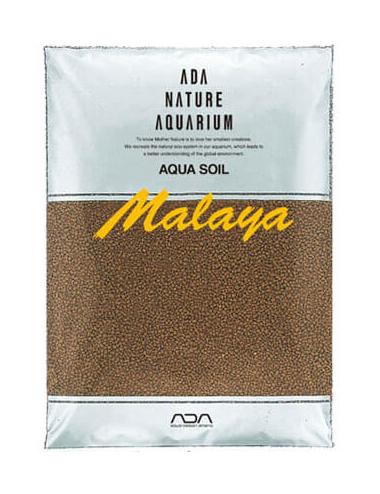 ADA - Aqua Soil Malaya Normal - 9l - Substrat nutritif pour aquarium planté