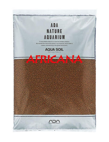 ADA - Aqua Soil Africana Powder - 9l - Substrat nutritif pour aquarium planté
