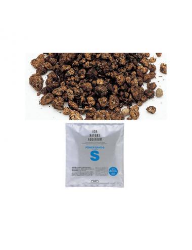 ADA - Power Sand S - 2l - Substrat de sous-couche pour aquarium planté