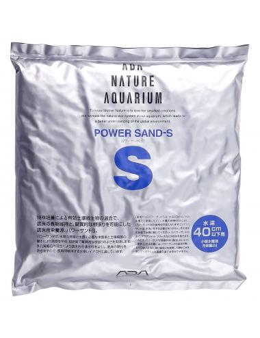 ADA - Power Sand Special S - 2l - Substrat de sous-couche pour aquarium planté
