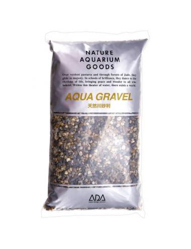 ADA - Aqua Gravel - 2kg - Gravier naturel pour aquarium