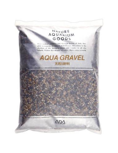 ADA - Aqua Gravel - 8kg - Gravier naturel pour aquarium 2-5mm