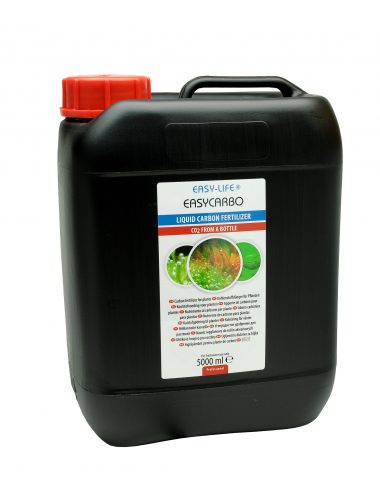 EASY LIFE - EasyCarbo - 5000ml - Solution nutritive pour plantes d'aquarium