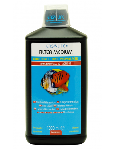 EASY LIFE - Filter Medium - 1000ml - Filtre liquide/Conditionneur d'eau