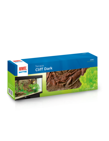 JUWEL - Terrasse Cliff Dark - 35 x 14 x 7,5 cm - Terrasse en résine