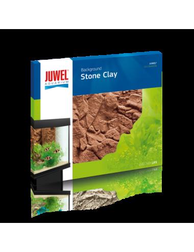 JUWEL - Stone Clay - 600 x 550 mm - Fond arrière en résine