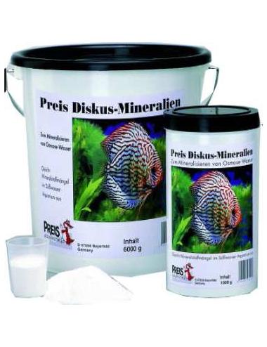 PREIS - Sel Mineral Discus - 4kg - Conditionneur d'eau en poudre