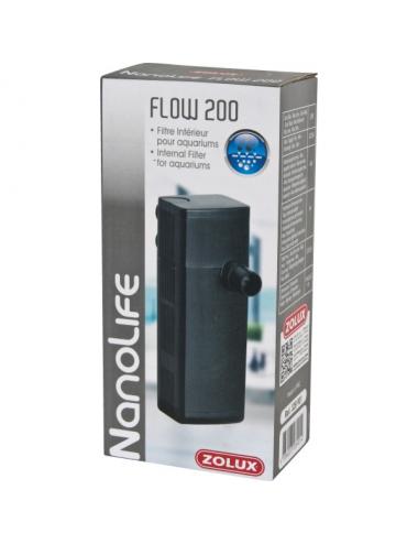 ZOLUX - NanoLife Flow 200 - Filtre pour aquariums jusqu'à 40l