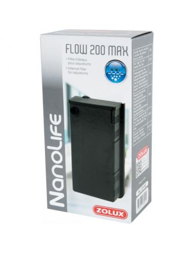 ZOLUX - NanoLife Flow 200 Max - Filtre pour aquariums jusqu'à 60l