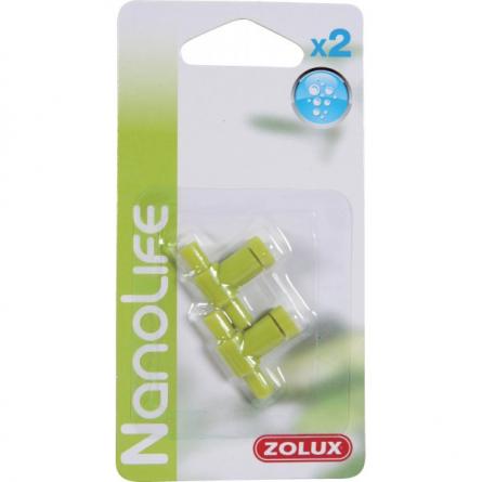 ZOLUX - Robinet pour tuyau 4/6mm - x2