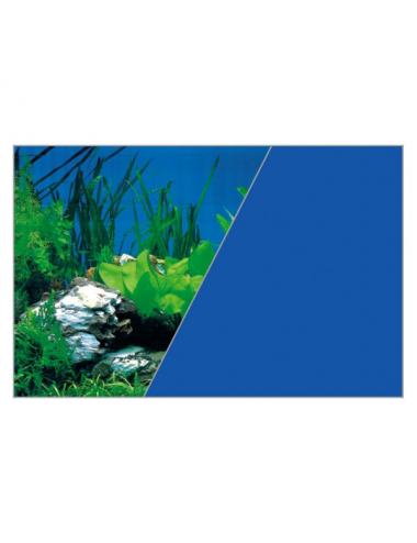 ZOLUX - Poster de fond Roche/Bleu - 120x60cm