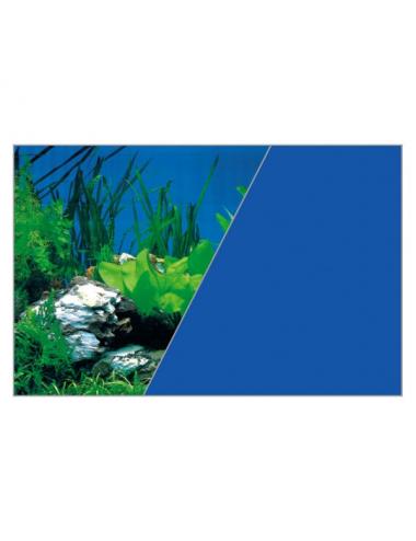 ZOLUX - Poster de fond Roche/Bleu - 80x50cm