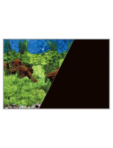 ZOLUX - Poster de fond Racine/Noir - 40x30cm