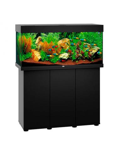 JUWEL - Rio 180 LED Noir - Aquarium tout équipé - Livraison gratuite