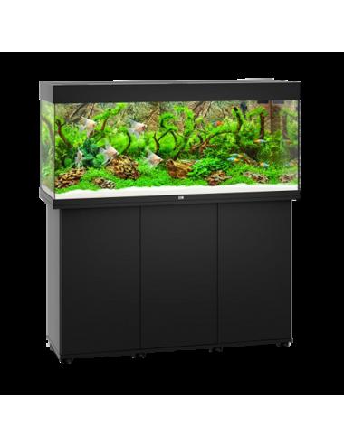 JUWEL - Rio 240 LED Noir - Aquarium tout équipé - Livraison gratuite