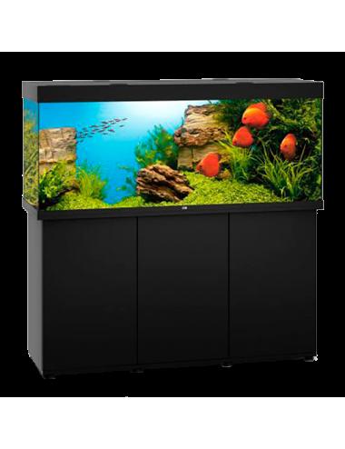 JUWEL - Rio 450 LED Noir - Aquarium tout équipé - Livraison gratuite
