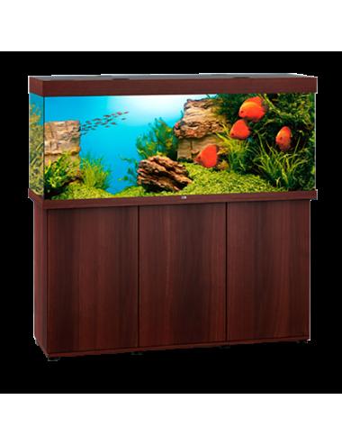 JUWEL - Rio 450 LED Brun - Aquarium tout équipé - Livraison gratuite