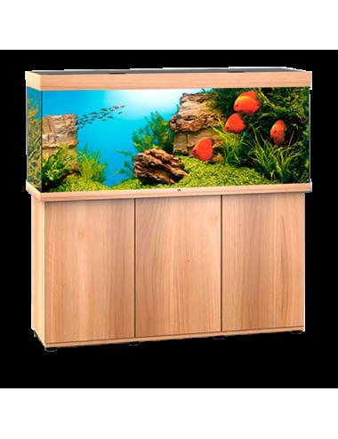 JUWEL - Rio 450 LED Chêne Clair - Aquarium tout équipé - Livraison gratuite