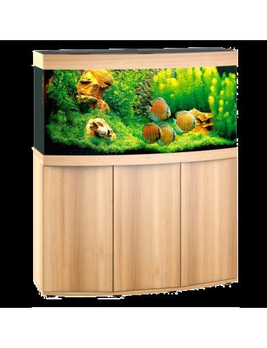 JUWEL - Vision 260 LED Chêne Clair - Aquarium tout équipé - Livraison gratuite