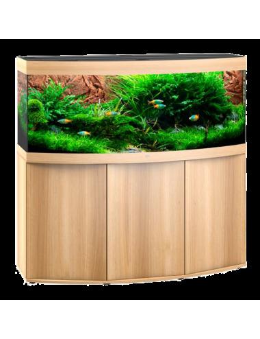 JUWEL - Vision 450 LED Chêne Clair - Aquarium tout équipé - Livraison gratuite